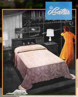 midcentury bedspreads