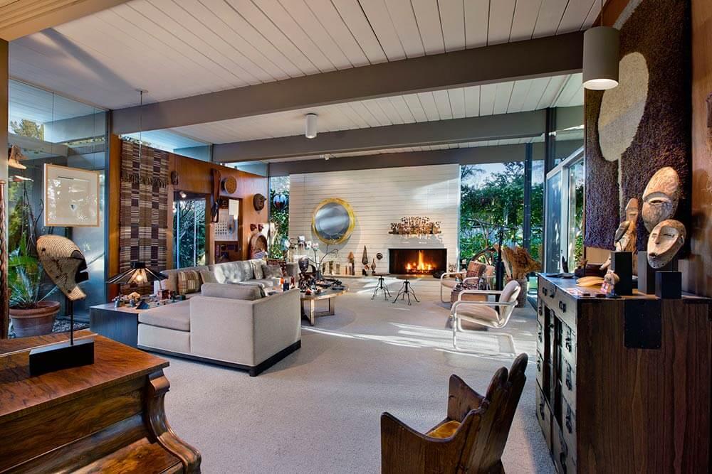 eichler house living room