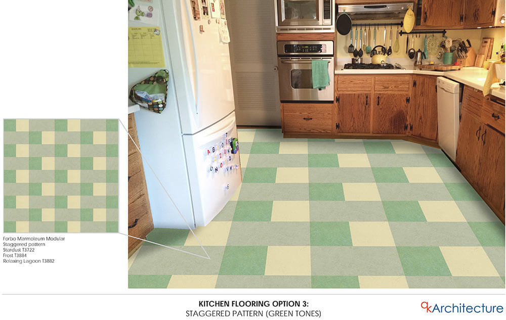 Retro Kitchen Flooring diana's 10 - yes, ten! - kitchen floor tile pattern mockups - and