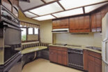 Kent Coffey Perspecta style kitchen and bathroom cabinets in this stunning 1972 Washington time capsule house