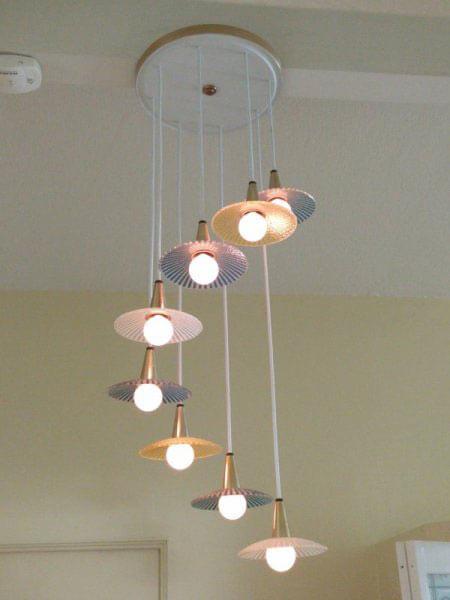 midcentury light fixture
