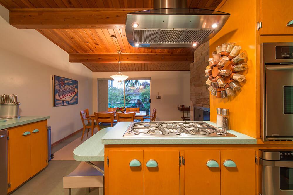 heywood wakefield style kitchen