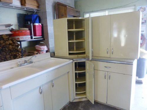vintage steel kitchen