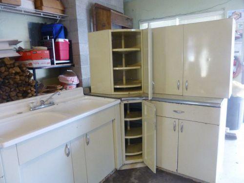 vintage steel kitchen