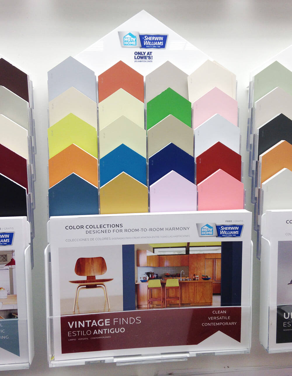 New vintage paint color collection from sherwin williams hgtv home midcentury paint colors geenschuldenfo Images