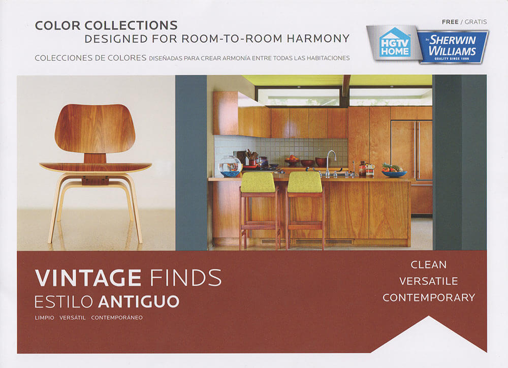 New vintage paint color collection from Sherwin Williams + HGTV Home ...