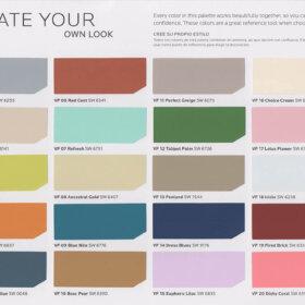 Midcentury paint colors