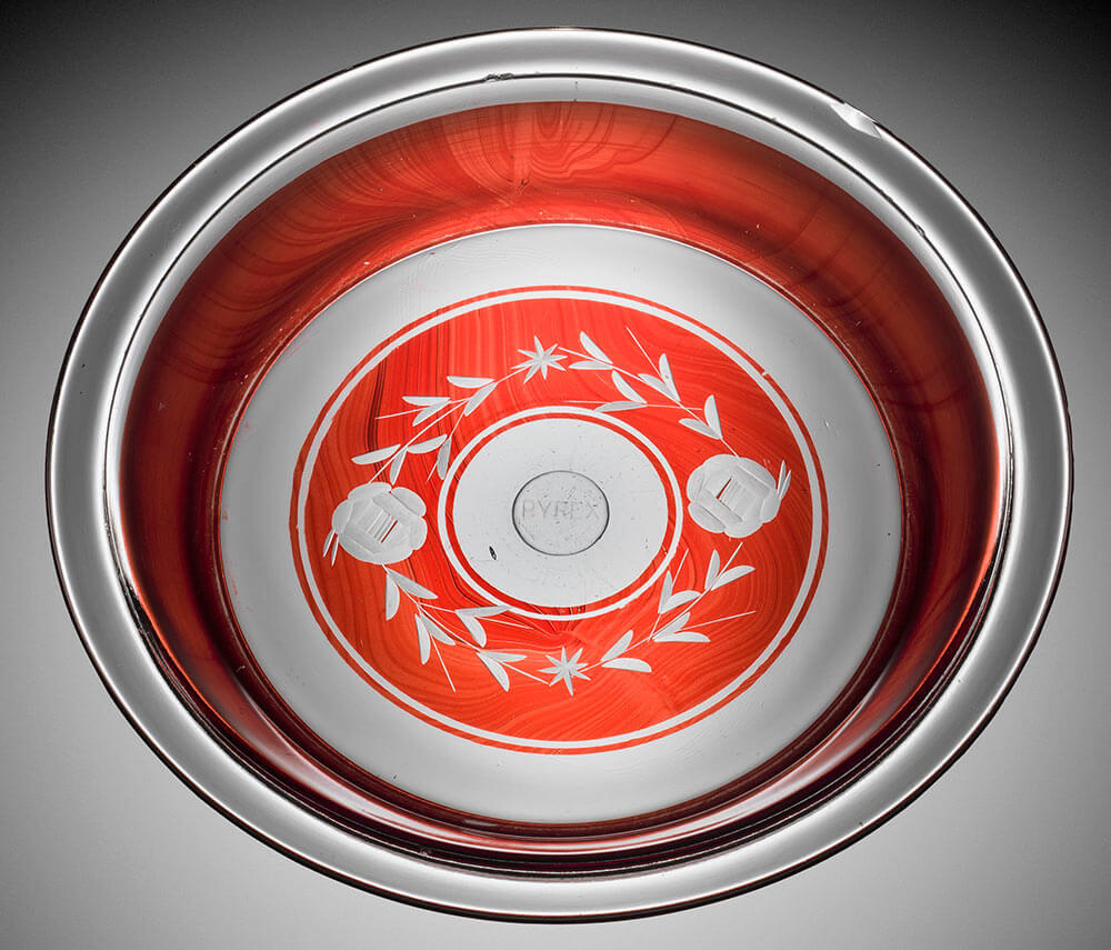 vintage pie plate pyrex & Corning Museum of Glass celebrates 100 years of Pyrex - we sneak ...