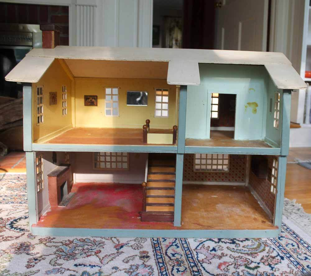 Restoring And Decorating My 1940s Vintage Dollhouse My