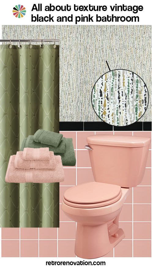 16 Designs To Decorate A Pink And Black Bathroom
