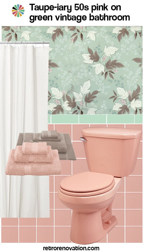 11 Ideas To Decorate A Pink And Green Tile Bathroom Retro Renovation Rh Retrorenovation Com