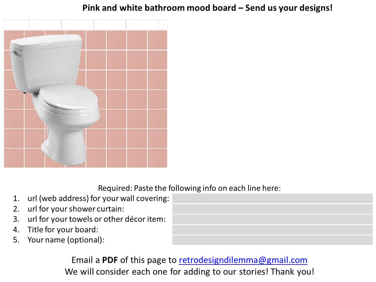 Great  ideas to decorate a pink and white bathroom