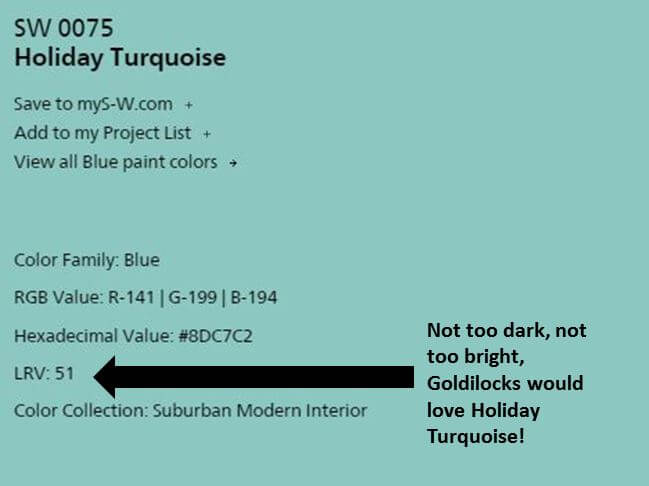 Understand Lrvs Light Reflectance Values Of Paint Colors