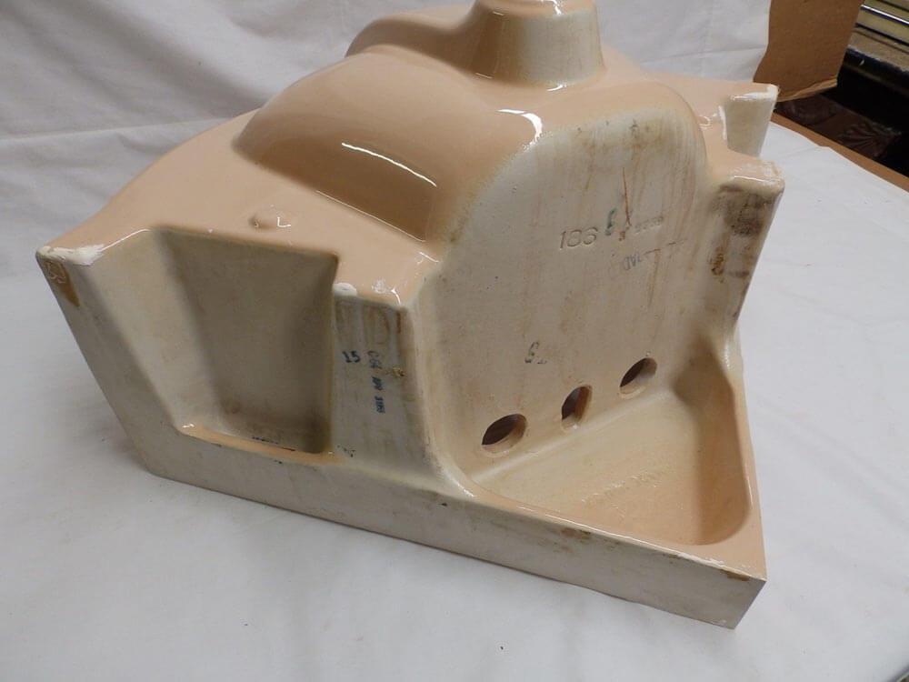 Beautiful vintage corner sink