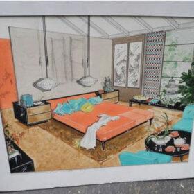 louisa cowan for armstrong flooring bedroom design