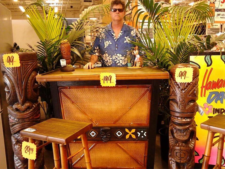 Tiki mania for Tiki Diablo at Home Depots - Retro Renovation