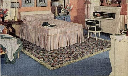 1940 Bedroom Decorating Ideas: 21 Early 1940s Interior Designs By Hazel Del Brown Of
