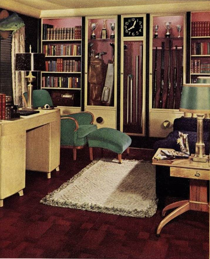 1940S Interior Design Brilliant 21 Early 1940S Interior Designshazel Del Brown Of Armstrong Inspiration