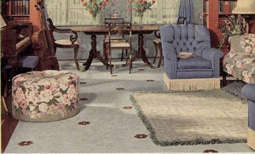 1940s decor
