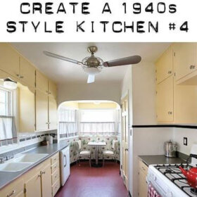 1940s kitchen ideas