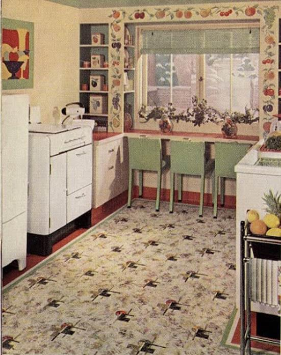 21 Early 1940s Interior Designs By Hazel Del Brown Of