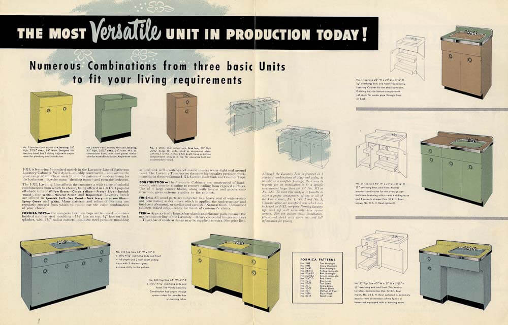 Bathroom Vanities Vintage Style need a retro bathroom vanity? look at these 5 authentic 1952