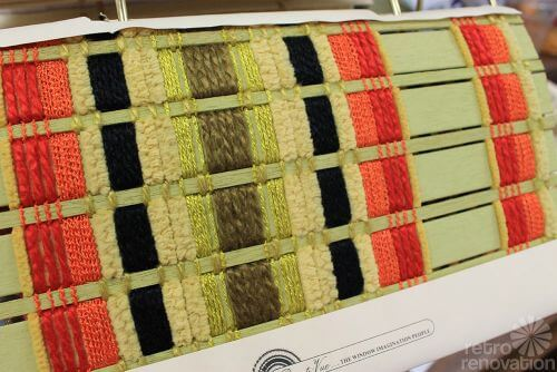 retro woven wood blinds