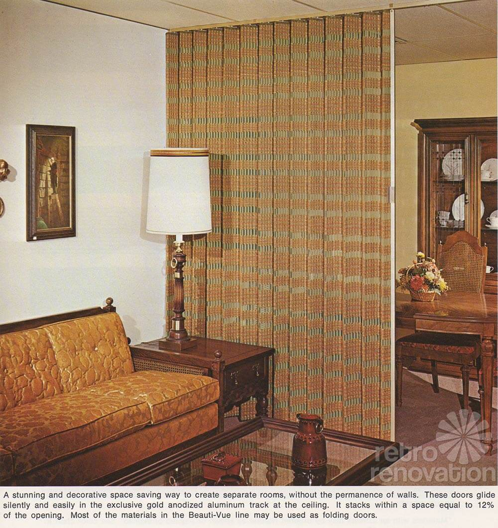 Exclusive 22 Page Beauti Vue Catalog Of 1970s Woven Wood
