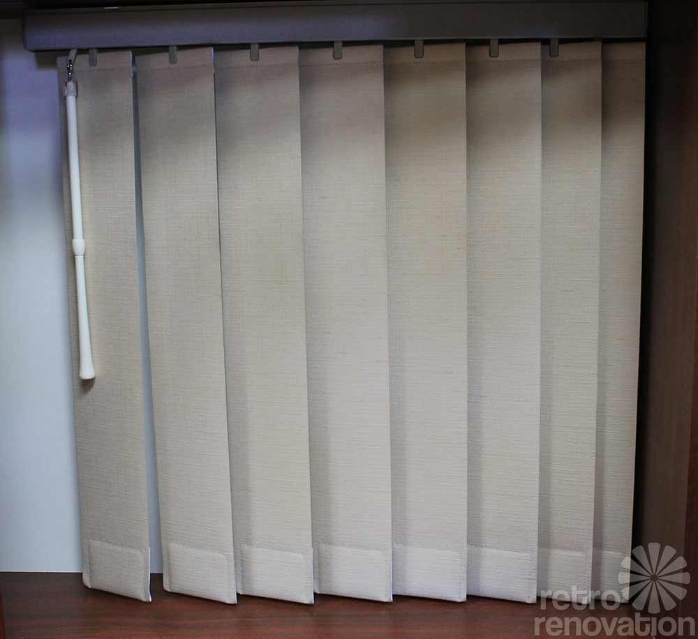 Beauti Vue Macrame Vertical Blinds New Old Stock From
