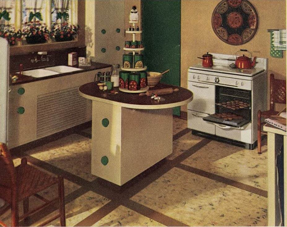 1940s Kitchen ...