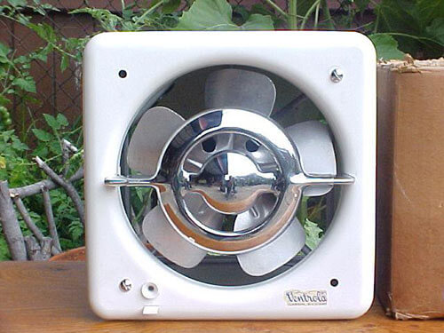 Beautiful Ventrola kitchen exhaust fan - NOS woddity - Retro Renovation