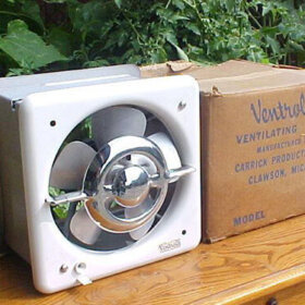 vintage NOS Ventrola kitchen exhaust fan