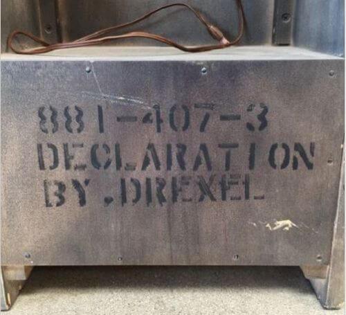 drexel-declaration