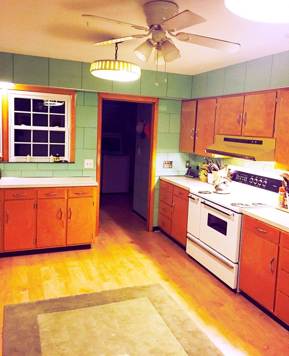 Create A 1940s Style Kitchen