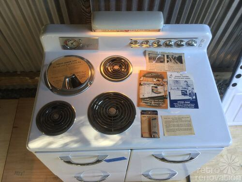 GE Airliner stove