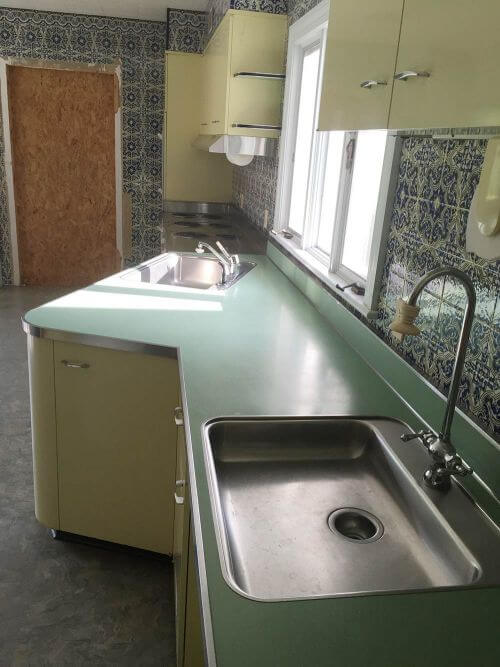 New vintage St Charles kitchen cabinets