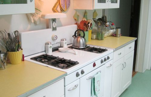 vintage kitchen stove