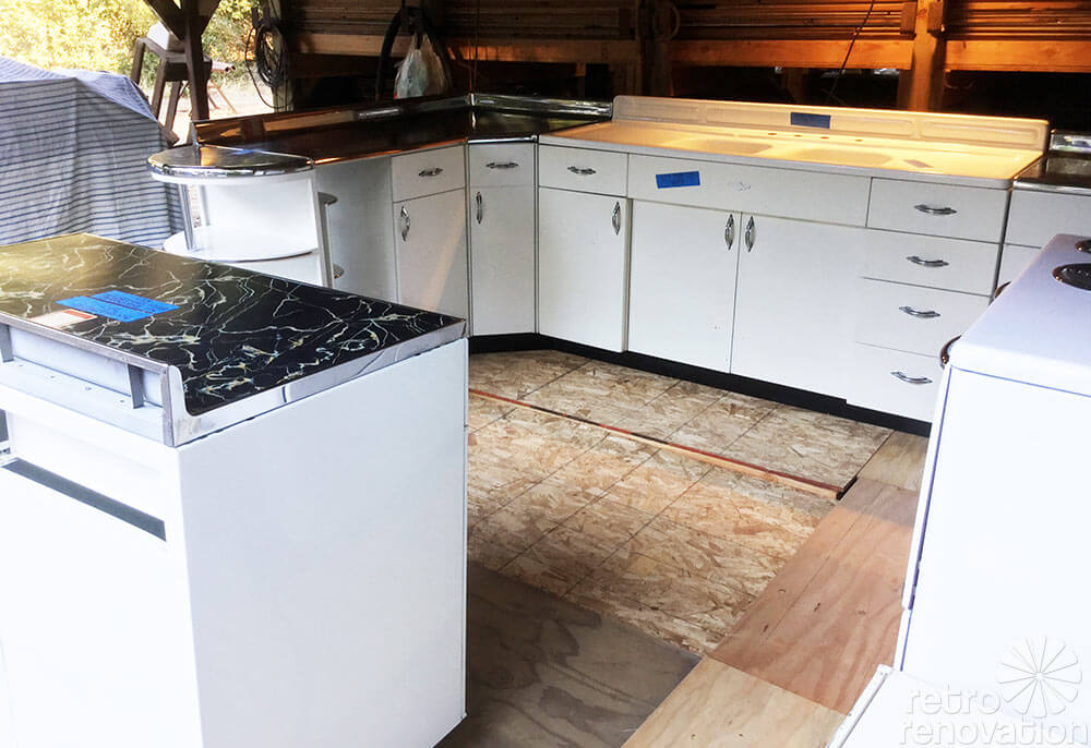 Marvelous NOS Youngstown steel kitchen cabinets s