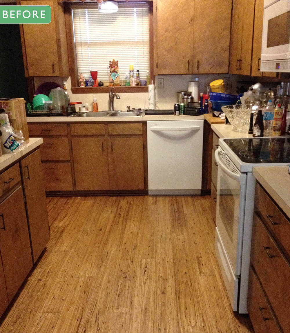 before 3 mary and john remodel their 1980s kitchen with a fresh white retro      rh   retrorenovation com