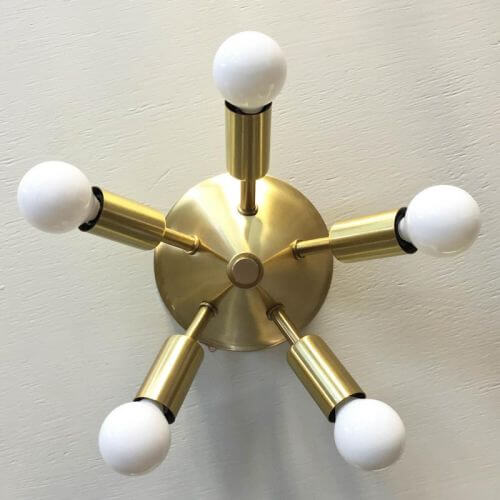 sputnik ceiling light