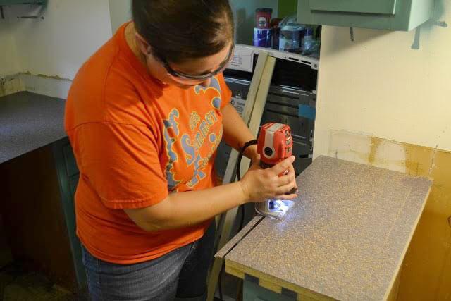installing a formica countertop