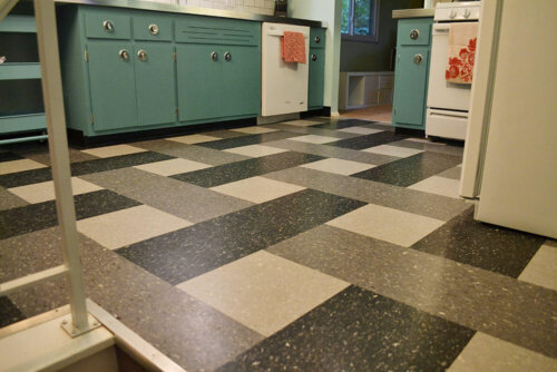 retro kitchen remodel