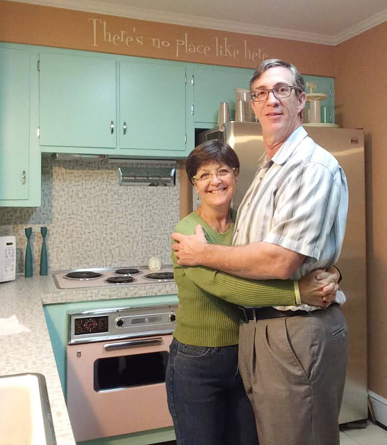wilsonart betty laminate in a kitchen