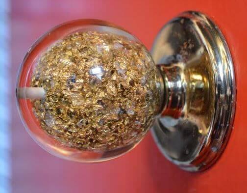 Incroyable ... Weiser Gold Doorknob Acrylic Doorknob