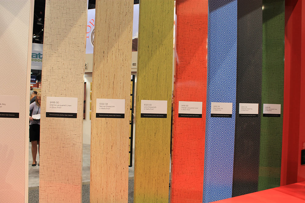 Pam And I Made Sure To Check Out The Formica Display Where It Was Fun See Large Samples Of Laminate Up Close In Person