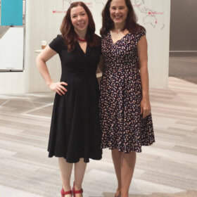 pam and kate of retro renovation at kbis