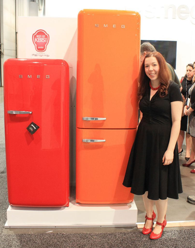 Smeg refrigerators at KBIS