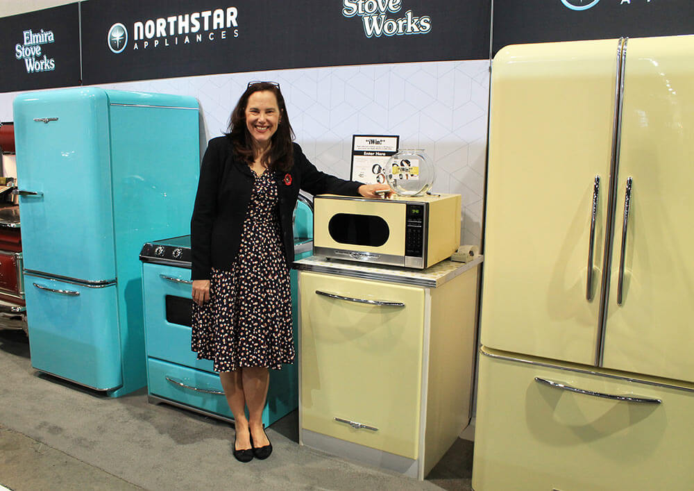 Northstar vintage style kitchen appliances from Elmira