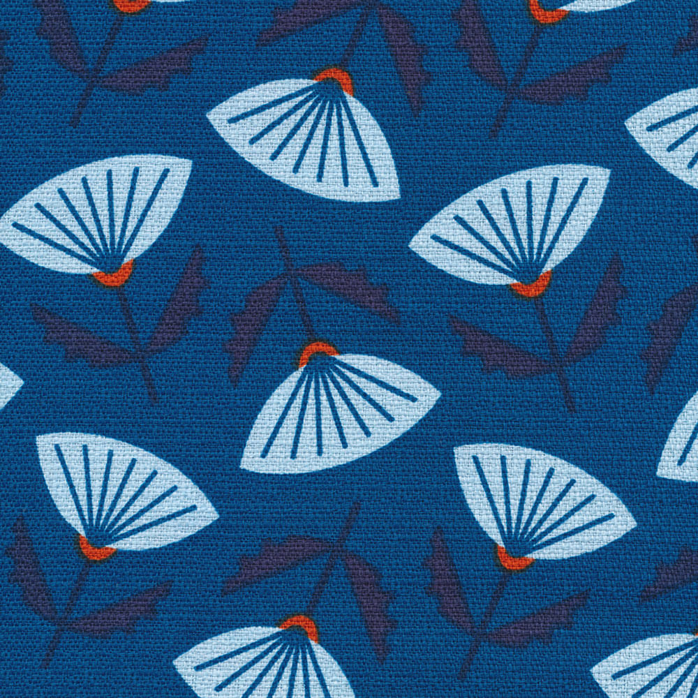 4 New Retro Barkcloth Designs From Jessica Jones And Cloud 9 Fabrics