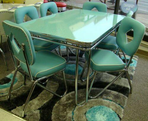 Still in production after nearly 70 years acme chrome for 50s style kitchen table
